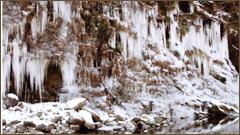 大滝三十槌氷柱